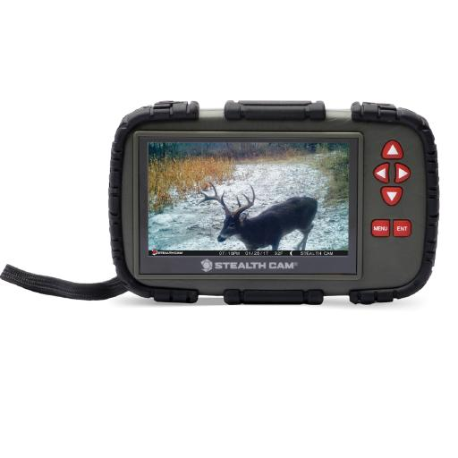 Gsm outdoors stc-crv43x stealth cam sd card touch viewer