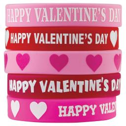 Teacher created resources happy valentines day wristbands 6564