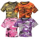 Rothco Women's Camouflage Crop Top T-Shirt