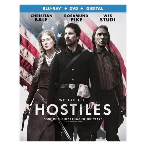 Hostiles (blu ray/dvd w/digital uv) VP2RSCZX8VJYF8QY