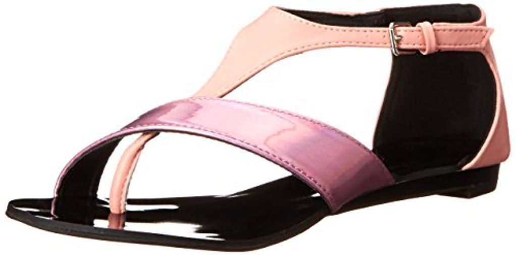C LABEL Women's Flatty-2 Dress Sandal