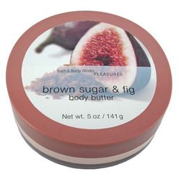 Bath & Body Works Brown Sugar & Fig Pleasures Collection Body Butter 5 oz