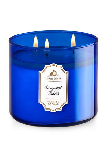 Bath & Body Works Bergamot Waters Scented Candle 465333B82657C16C