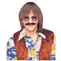 Costume Culture Men's Silly Boy Wig Deluxe, Brown, One Size