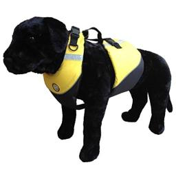 First Watch Flotation Dog Vest - Hi-Visibility Yellow - X-Large, AK-1000-HV-XL
