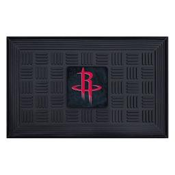 Fanmats 11410 NBA Houston Rockets Vinyl Medallion Door Mat