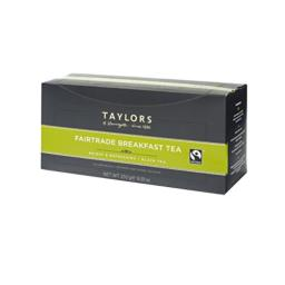 Taylors of Harrogate Fairtrade Breakfast, 100 Count (Pack of 1)