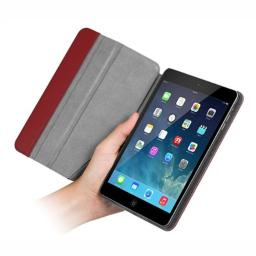 Chil Notchbook SE Leather Case for iPad Mini - Burgundy (0112-0947)