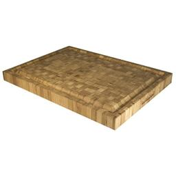 """Totally Bamboo Pro Board Long Bamboo Carving and Cutting Board, 22"""" x 16"""" x 2"""""""