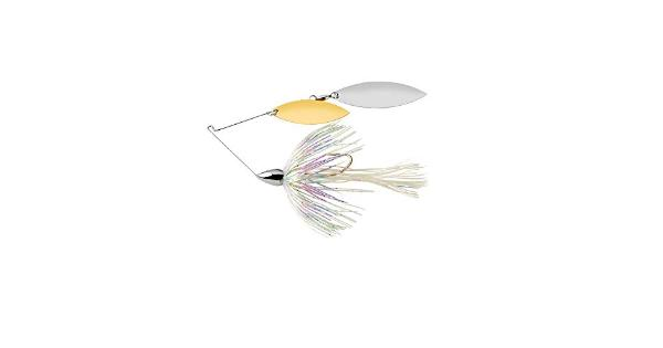 War eagle spinner baits we nkl dbl wil spinnerbt shiny shad we12nw20