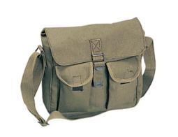 Rothco Canvas 2-Pocket Ammo Shoulder Bag