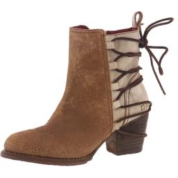 Bed Stu Womens Blaire Vegetable Tanned Leather Ankle Boots