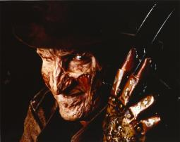 Nightmare On Elm Street Freddy in Close Up smiling Portrait with Hat Photo Print GLP453952LARGE