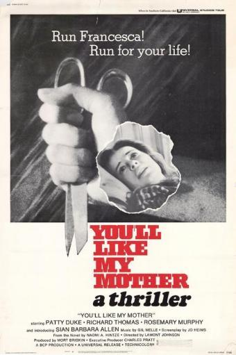 You'll Like My Mother Movie Poster (11 x 17) MOZG3OFA6AUUJHXJ