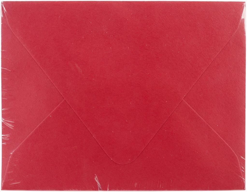 A2 Envelopes 50/Pkg-Red