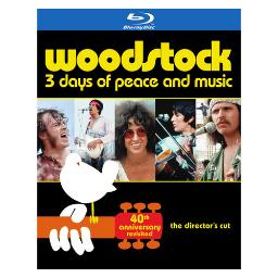 Woodstock-3 days of peace & music-40th anniversary le revisited (blu-ray) BR484627