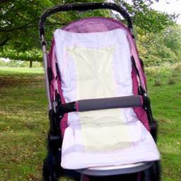 Sweet Ribbon Stroller Liner