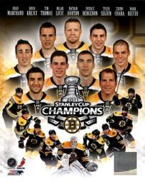 Boston Bruins 2011 NHL Stanley Cup Championship Composite Sports Photo PFSAANS02601