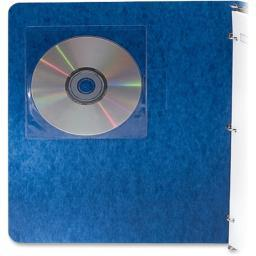 Fellowes, inc. 98315 fellowes adhesive cd/dvd holders protect discs while keeping them attached to fi