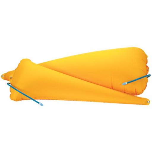 Seattle Sports 148097 Full Sea Kayak Float Set - Yellow