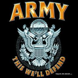 Army T-shirt from Black Ink
