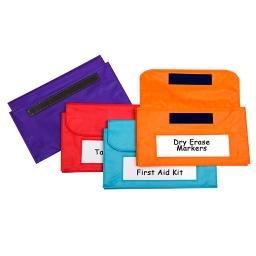 C-line products inc magnetic storage pockets 4 st 81200
