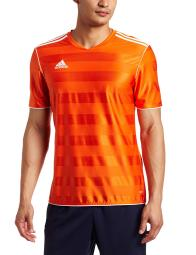 9cb34f6a9 Adidas Boys Tabela 11 Jersey T-Shirt Orange White Size Youth
