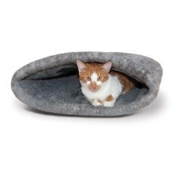 K&H Pet Products 5204 Gray K&H Pet Products Amazin' Kitty Sack Gray 22 X 20 X 20