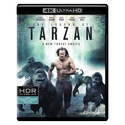 Legend of tarzan (blu-ray/4k mastered-blu-ray/2016) BR617535