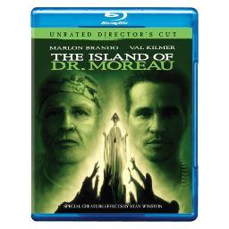 Island of dr moreau (blu-ray/unrated directors cut) BRN248098