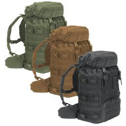 Voodoo Tactical 15-0154 MOLLE Versa All-Weather Ruck, 50-Liter Backpack 15-0154004000