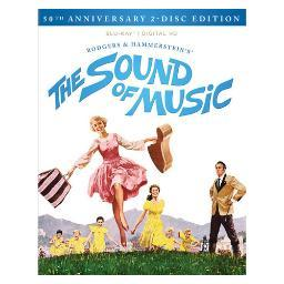 Sound of music-50th anniversary (blu-ray/digital hd/2 disc/documentary) BR2302956
