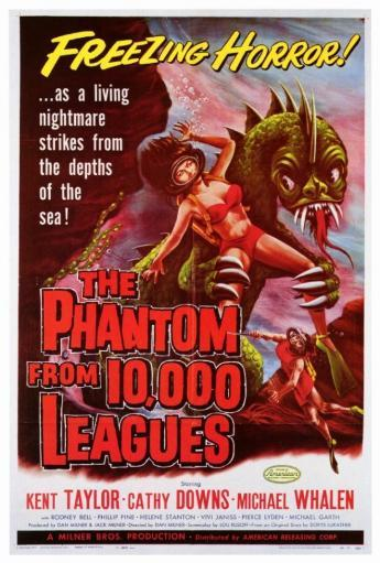 The Phantom From 10,000 Leagues Movie Poster Print (27 x 40) 1047908