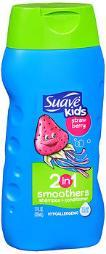 Suave Kids 2 in 1 Smoothers Shampoo and Conditioner, Strawberry- 12 oz UN92110