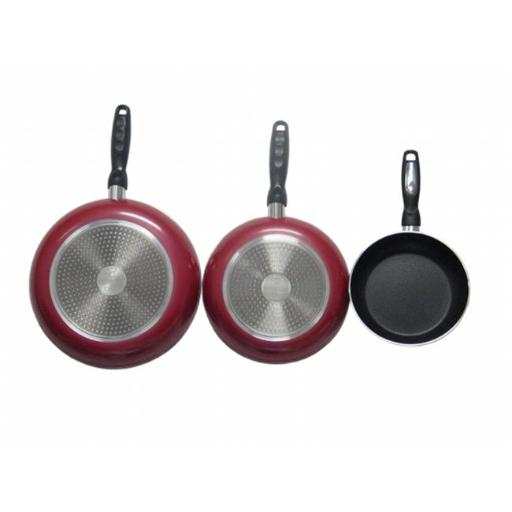 American Trading House Jl-Combor Gourmet Chef Professional Heavy Duty Induction Non Stick Fry Pan Set