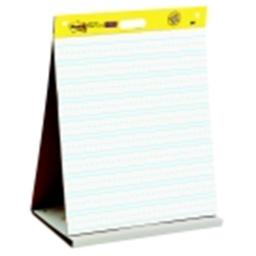Post-It Self - Stick Tabletop Easel Pad, Paper, White