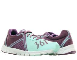361° Feather Light Blue/Sunset Purple Women's Running Shoes 201420105-6005
