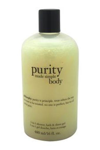 Philosophy Purity Made Simple Body 3-In-1 Shower Bath & Shave Gel Shower & Shave Gel For Unisex