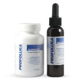 Profollica Hair Recovery System Pills and Gel, Slow, Stop, and Reverse Hair Loss 0799493396720