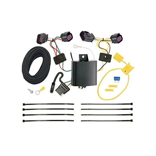 Trailer Wiring Connector Kit T-One T-One Connector Assembly With Upgraded Circuit Protected Modulite ® Hd Module