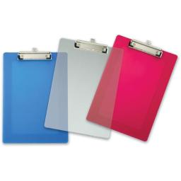 9 in. X 12.5 in. Assorted Plastic Clipboard