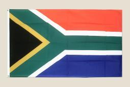 South Africa 3x5 Flag Red Blue Green Polyester 2 Brass Grommets African