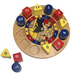 Hickory Dickory Wooden Clock Toy