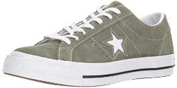Converse Mens One Star Ox Suede Low Top Casual Shoes Green 12 Medium (D)