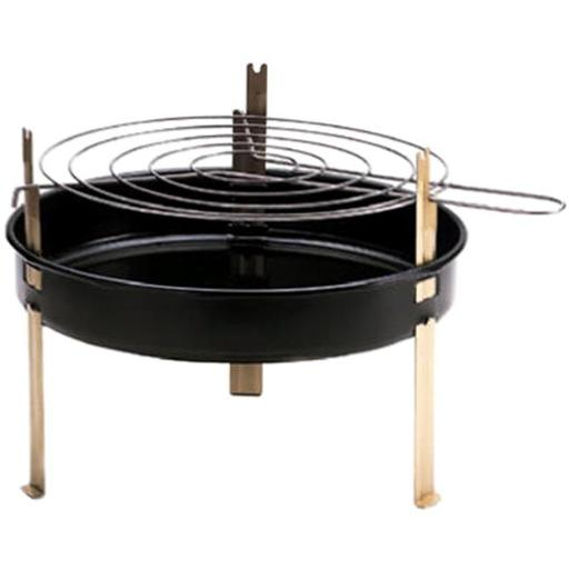Kay Home Products 5 12 in. Round Table Top Barbecue Grill