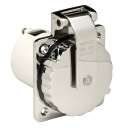 Marinco 303Ssel-B 30A Power Inlet - Stainless Steel - 125V