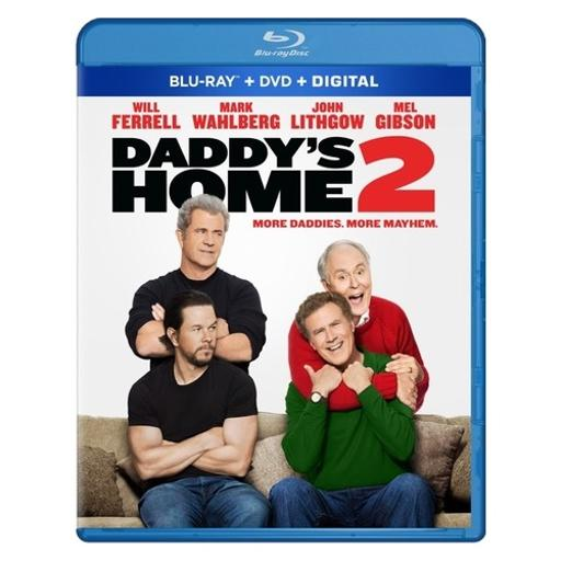 Daddys home 2 (blu ray/dvd w/digital hd combo) DS10VIBJYR6OEXWA