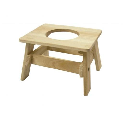 ODM Products Ltd. MM30101 Lohasrus End Table Planter in Natural- MM30101