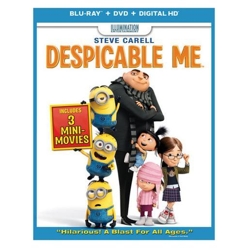 Despicable me blu ray/dvd w/digital copy/ultraviolet UR7XUZ2H0DSEGE1C