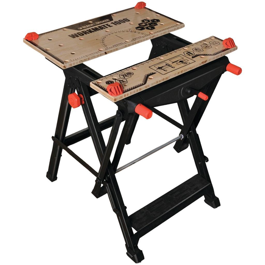 Black & Decker Bdst11000 Workmate(R) 1000 Portable Work Center & Vise